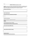 AP US History Henretta 8th addition chapter 2 outline worksheets
