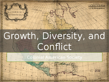 AP US History Key Period 2: Growth, Diversity, and Conflict PowerPoint Lecture