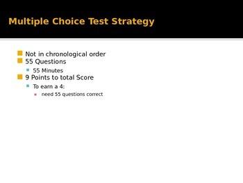 AP U.S. History Multiple Choice Strategy