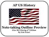 AP US History Note Taking Outline BUNDLE Preview