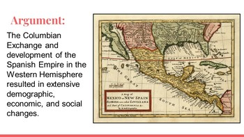 AP US History Period 1 Lecture Slides