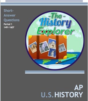 AP U.S. History Period 1 Short-Answer Questions