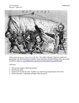 AP US History Period 5:  1844-1877