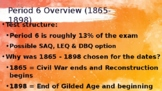 AP US History Period 6 Review-Gilded Age: Distance Learning & eLearning