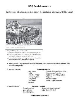 AP US History Period 6 Short Answer Questions (SAQ)