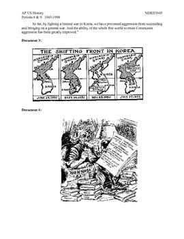 AP US History Period 8:  Korean War