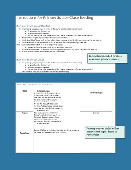 AP US History - Period 7 (Pt. 1) (PPT, Primary Sources, Extension Activities)
