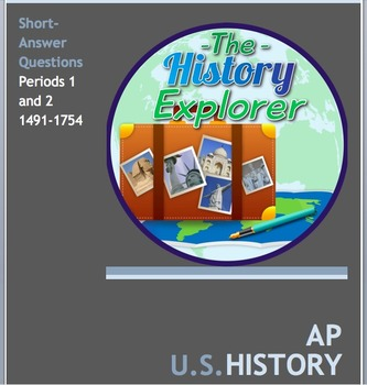 AP U.S. History Periods 1 and 2 Short-Answer Bundle