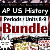 AP US History - Complete Periods 8-9 / Units 8-9 Pack - Go