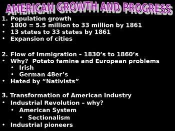 AP US History Powerpoint: America Economy 1790-1860