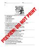 AP US History Pre/Post Assessment