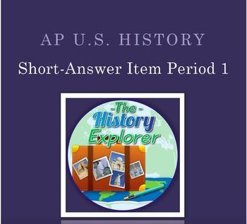 AP U.S. History Short-Answer Item: Native Debate