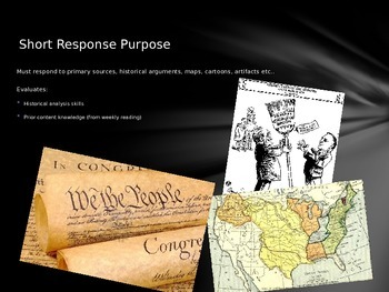 AP U.S. History Short Response Intro & Demo