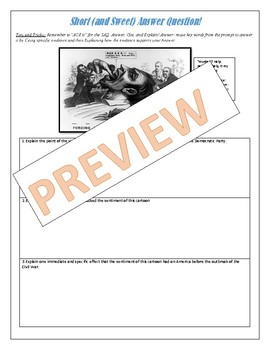 AP US History Skill Building Packet Period 5