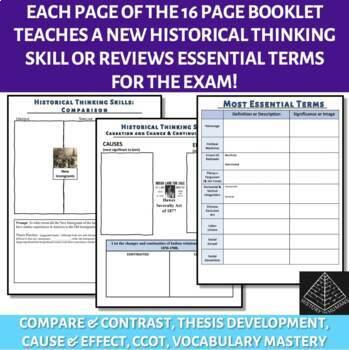 AP US History Skill Building Workbook Period 6