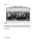 AP US History - The Politics, Culture & Conflict of 19th C