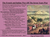 AP US History Unit 2 French and Indian War to American Revolution