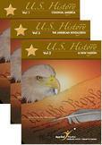 Applied Practice AP U.S. History Series Vols 1-3: Colonial to New Nation Era