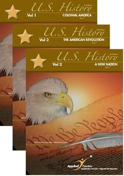 Applied Practice AP U.S. History Series Vols 1-3: Colonial