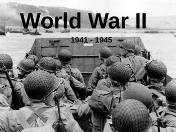 APUSH Power Presentation: World War II