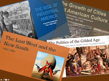 AP United States History - Period 6 PowerPoints - New Curriculum Framework - ALL
