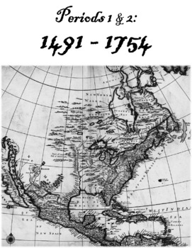 AP United States History: Period 1 & 2 Free Note Packet