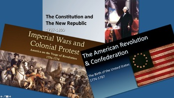 AP United States History - Period 3 PowerPoint - New Curriculum Framework - ALL