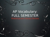 AP Lang and Lit Vocabulary Terms, Definitions, and Example