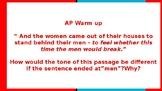 AP WARM UP SLIDES