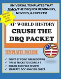 AP WORLD HISTORY CRUSH THE DBQ: Template & Analysis Sheet