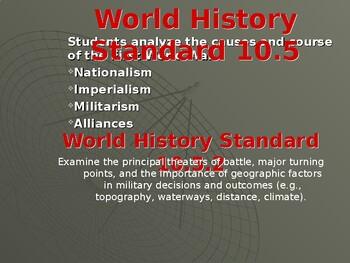 AP WWI: A New Kind of War
