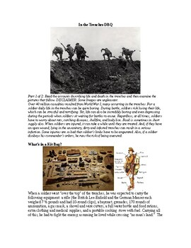 AP WWI: In the Trenches DBQ