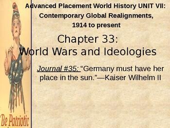 AP WWI: World War I Begins