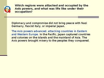 AP WWII: World War II Begins