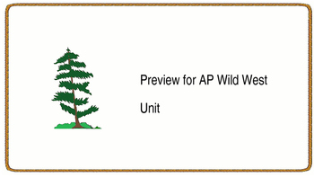 AP Wild West Unit
