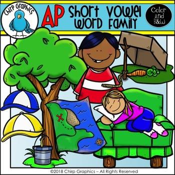 AP Word Family Clip Art Set - Chirp Graphics