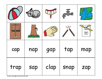 AP Word Family Centers and Activities Pack #1