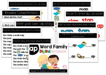 AP Word Family Digital Notebook