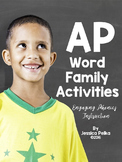 AP Word Family Unit