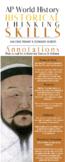 AP World Historical Reasoning Skills