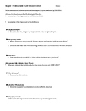AP World History Amsco Chapter 17 Reading