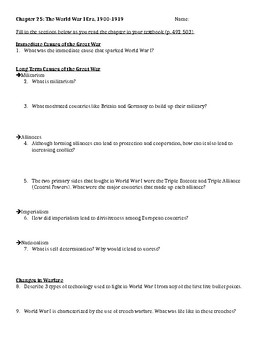 Amsco World History Worksheets & Teaching Resources | TpT