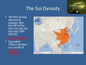 AP World History:  China 600CE-1450CE Notes