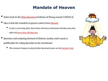 AP World History Classical China Notes