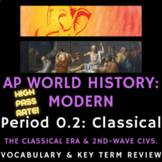 PowerPoint AP World History - Complete Period 2 Vocabulary Review Presentations