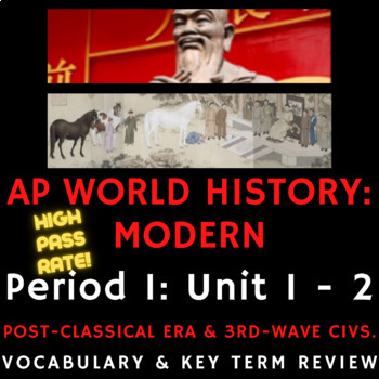 AP World History - Complete Period 3 Vocabulary Review PowerPoint Presentations