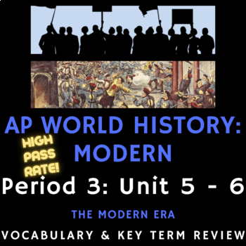 AP World History - Complete Period 5 Vocabulary Review PowerPoint Presentations
