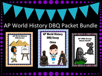 AP World History DBQ Bundle