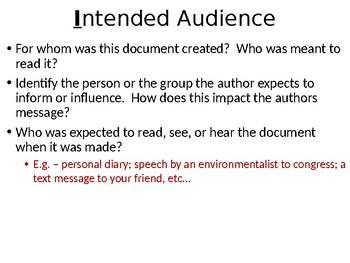 AP World History DBQ Sourcing Practice Lesson