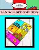 AP World History: Empires (Land-Based) - Comic Book Project